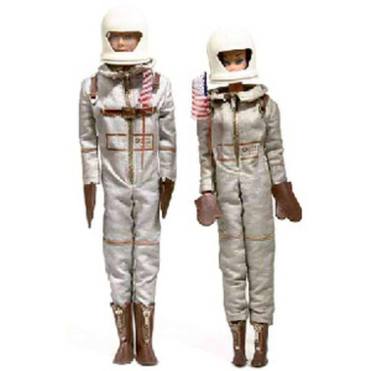 Barbie and Ken in Miss (and Mr.) Astronaut