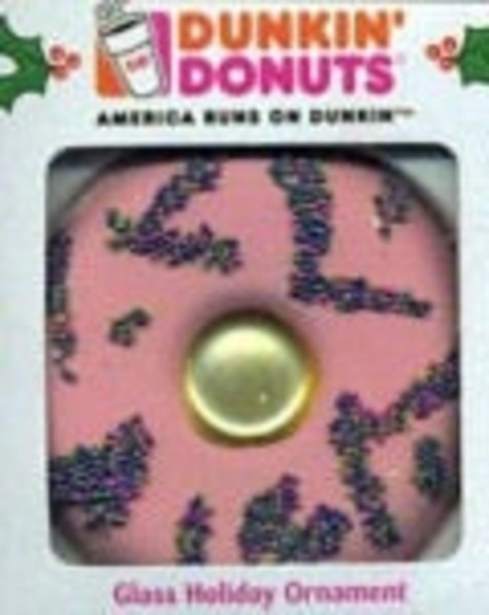 Dunkin Donuts ornaments