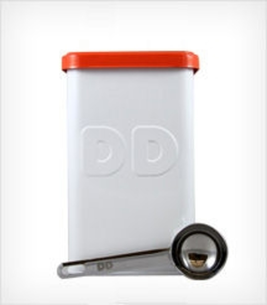 Dunkin Donuts coffee canister