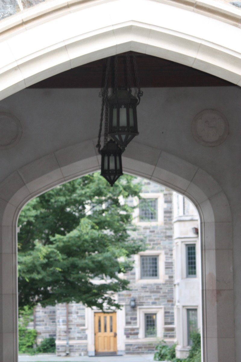 This is a sample of the arches you will walk through as you either visit the campus or head to your next class.