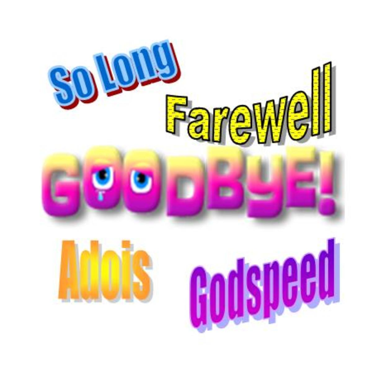 Saying Goodbye To A Colleague Quotes