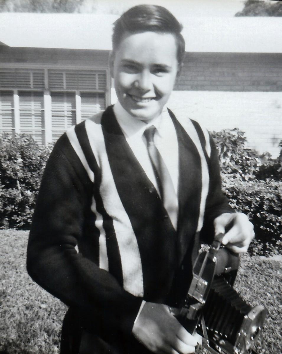 Jim during his high school days