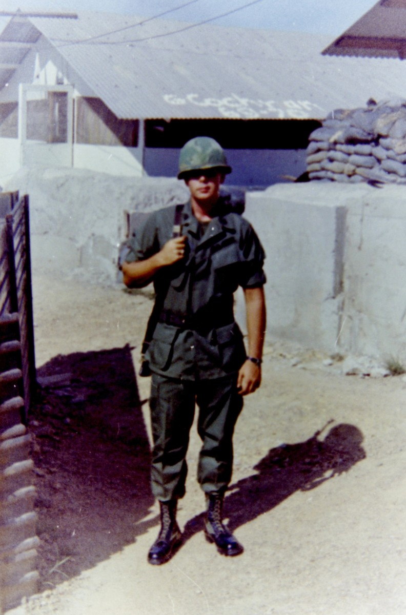My brother Jim in Viet Nam