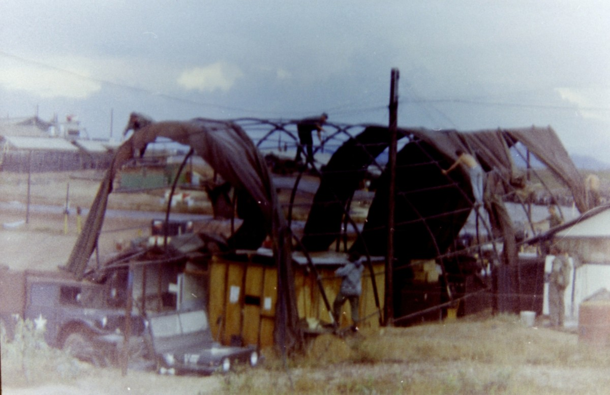 Base Camp Photo in Vietnam