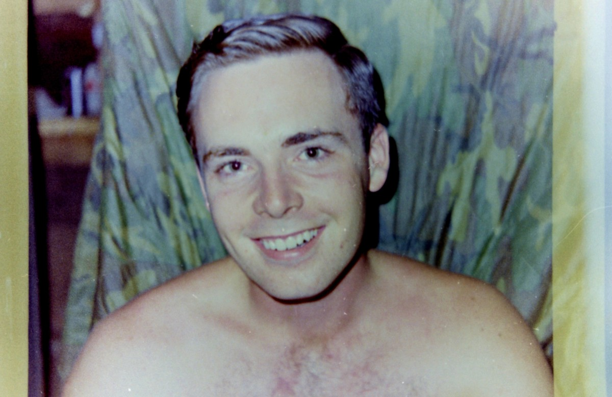 My youngest brother Jim in Vietnam