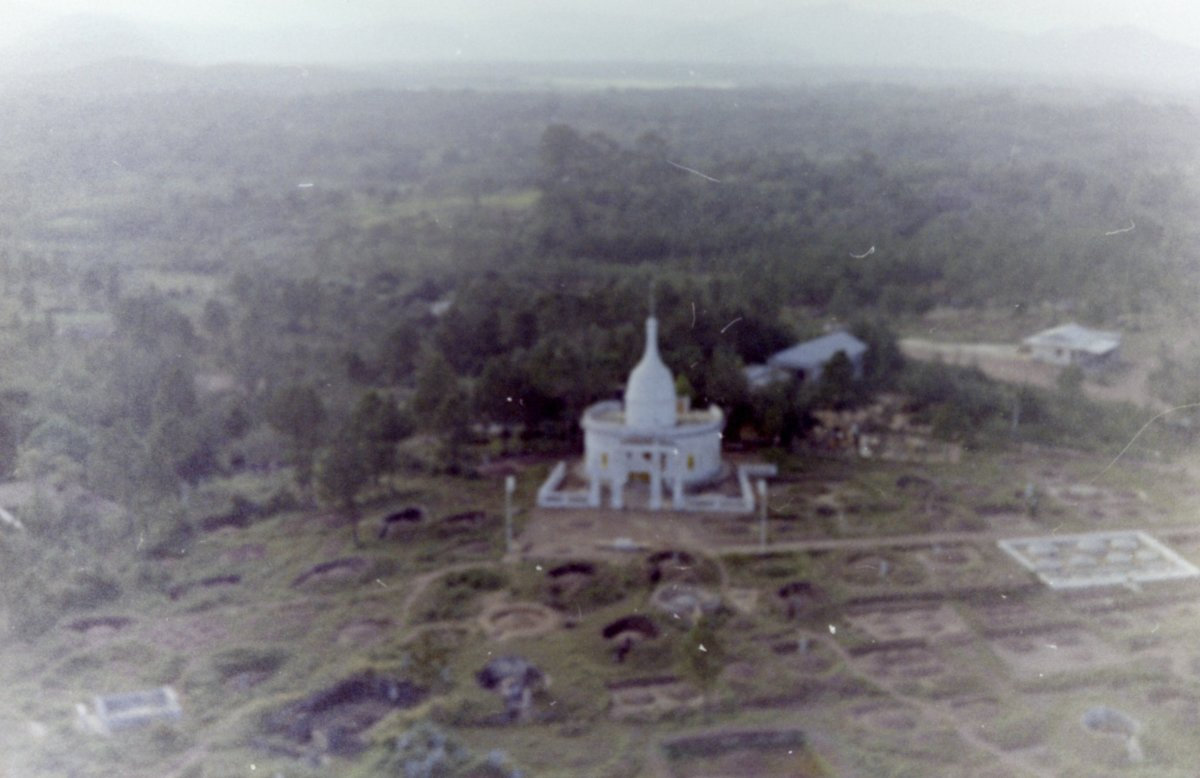 Photos taken from the air during the Vietnam War