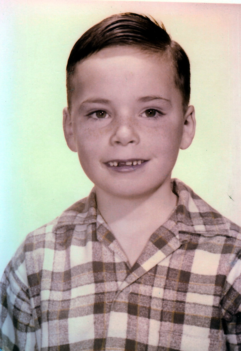 1956 photo of Jimmy as he was called back then