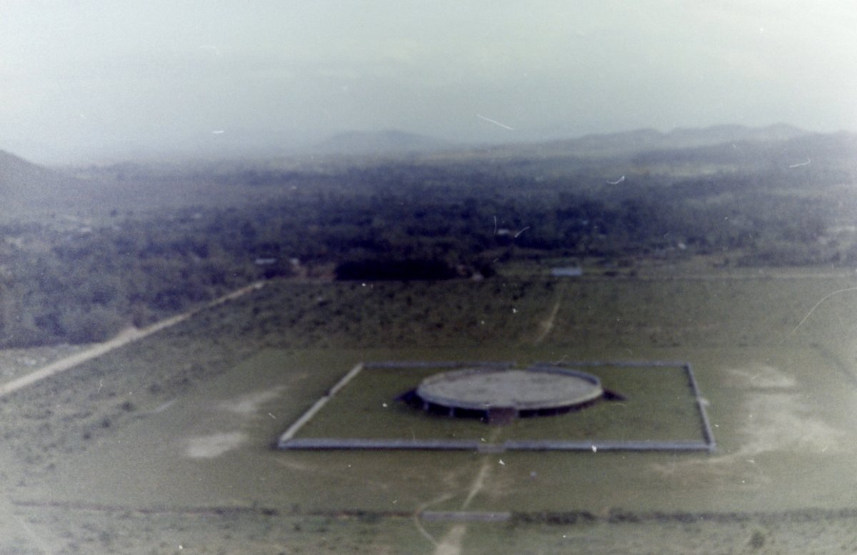 Photo Taken From The Air During The Vietnam War