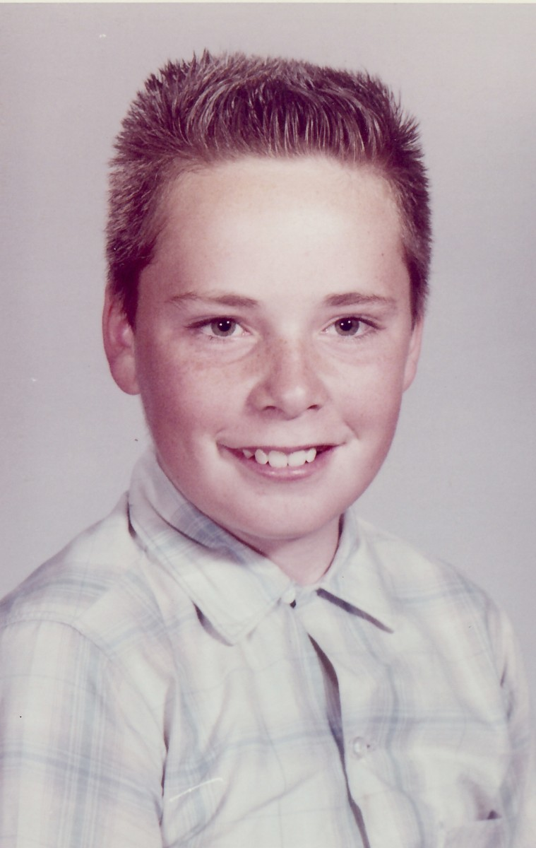 Jim as a youngster