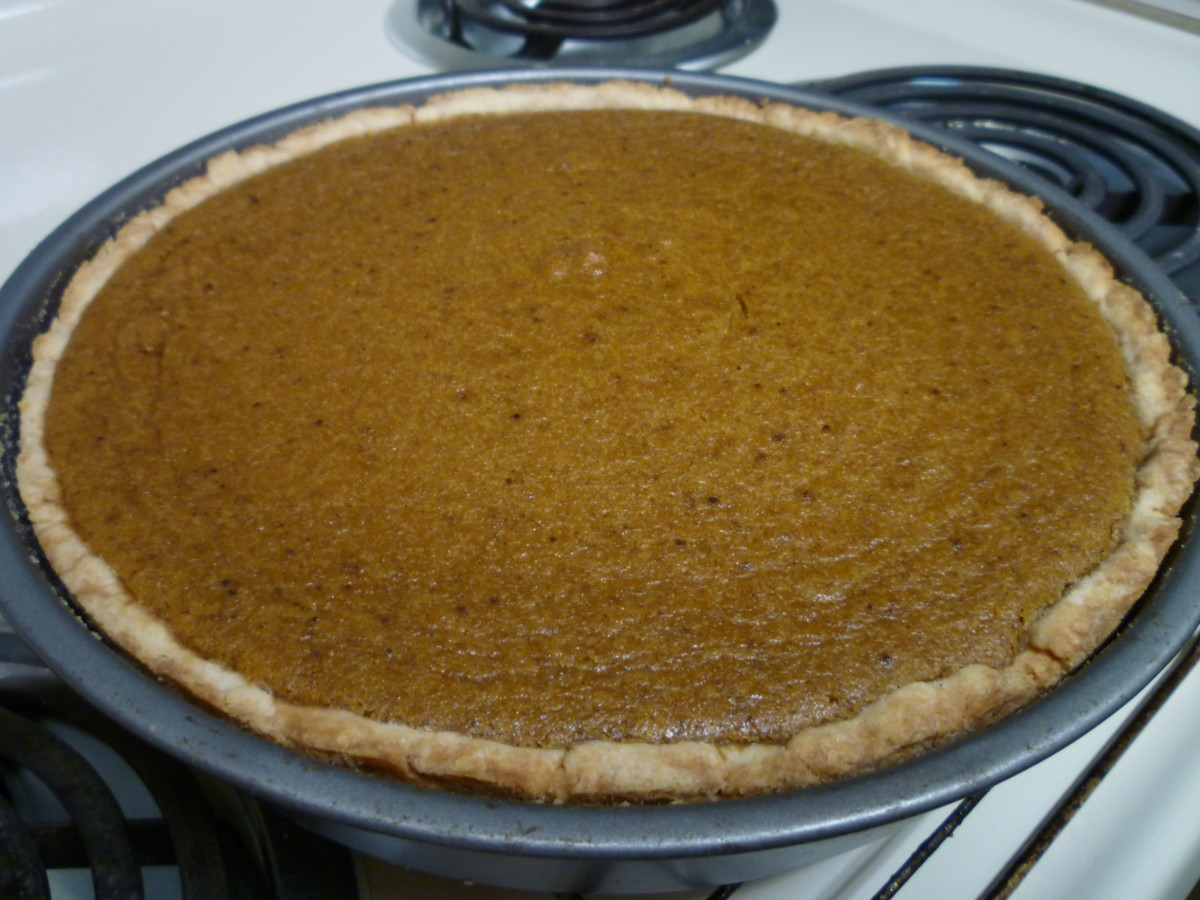 Recipe for Pumpkin Pie from Scratch