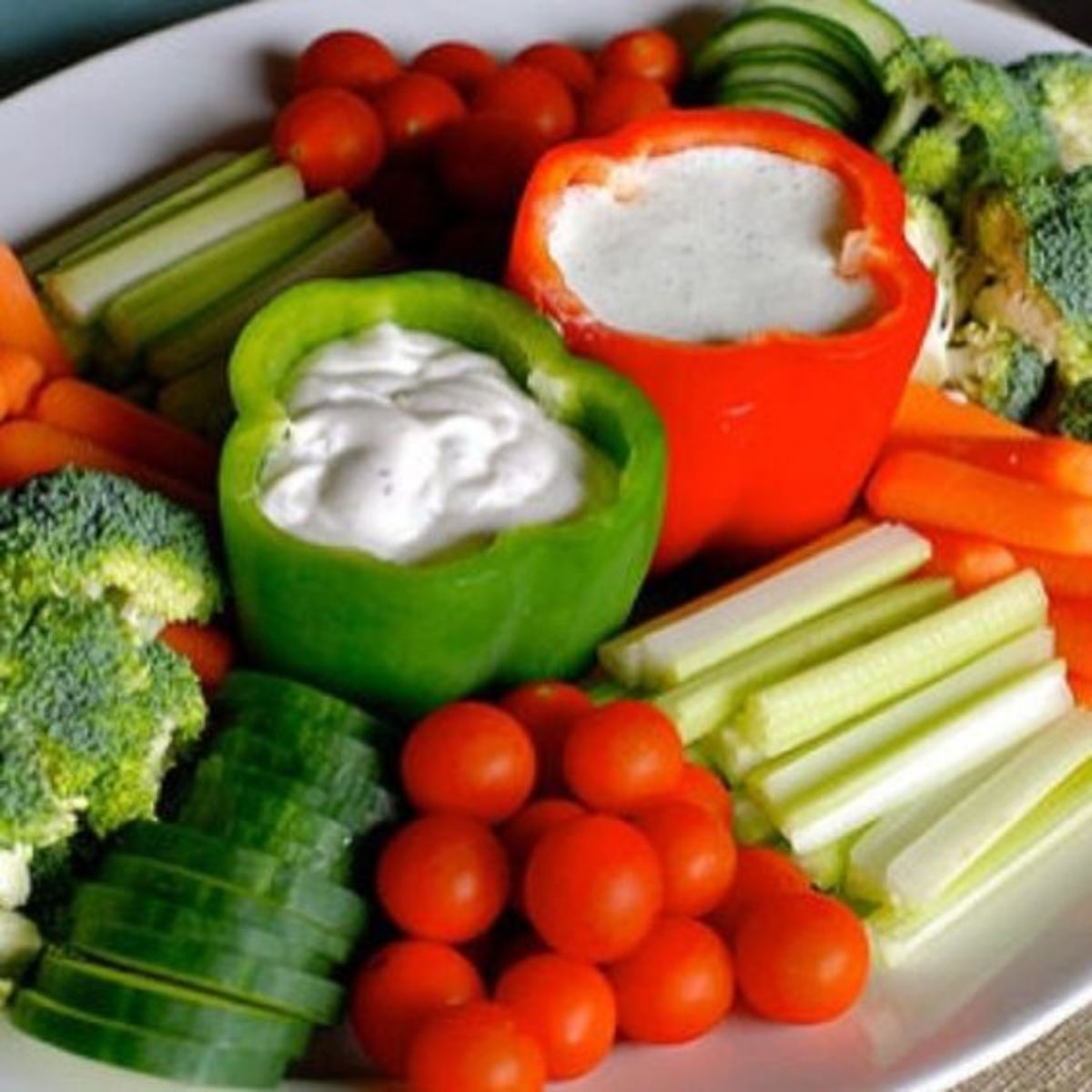Offering healthy snacks is a great idea and is simple preparation too