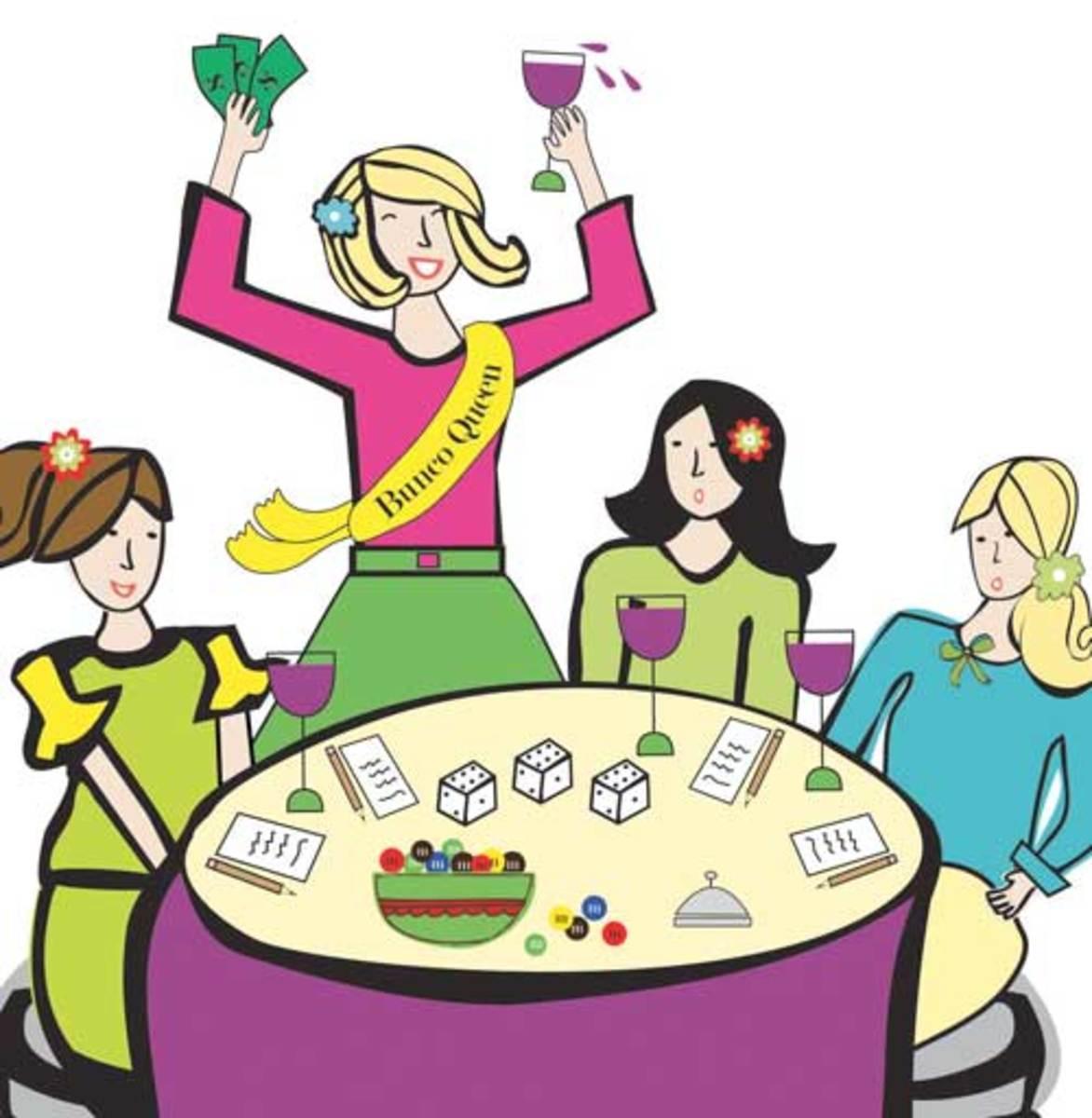 Ladies Game Night