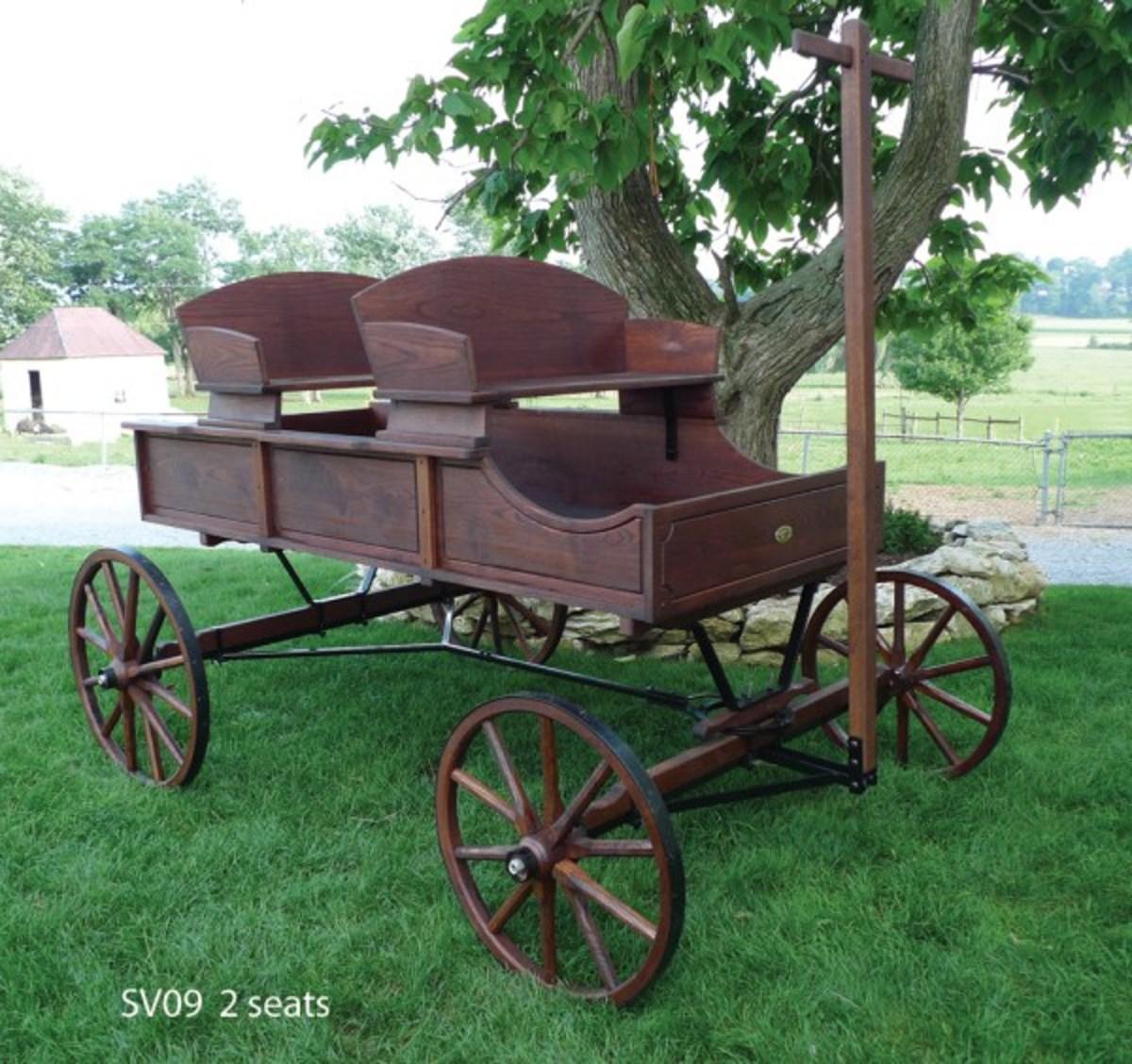 Buckboard Wagons