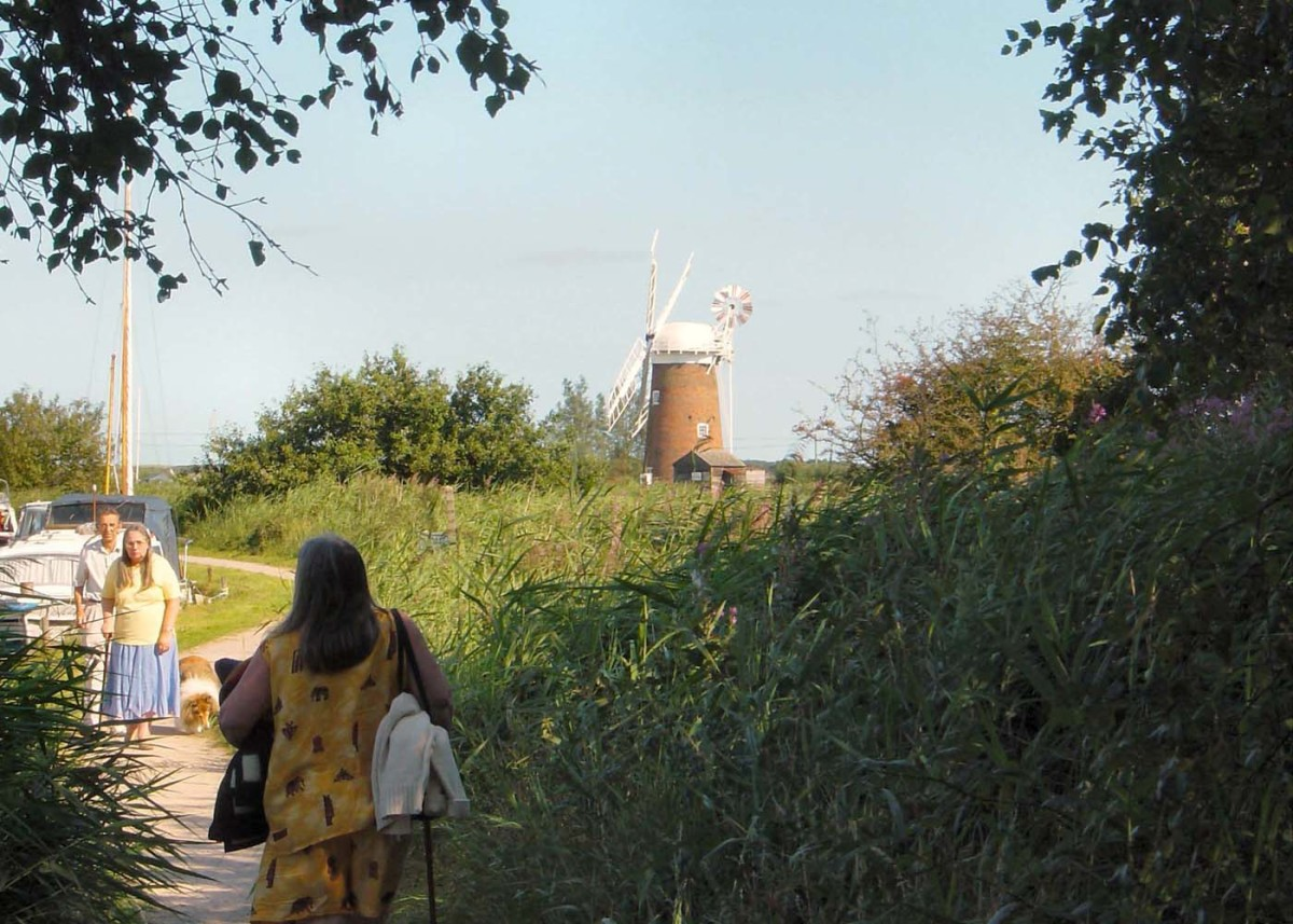 Horsey Windmill in the Norfolk Broads
