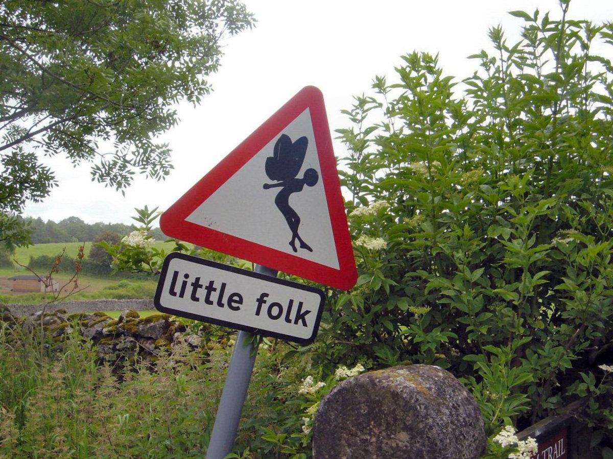 Little folk, Low Sizergh Farm, Lake District, England