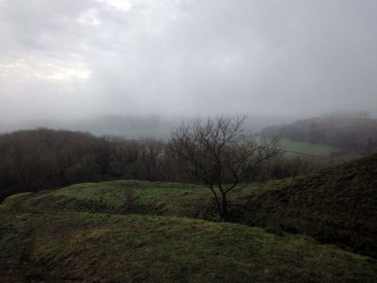 Uley Bury, Gloucestershire, England