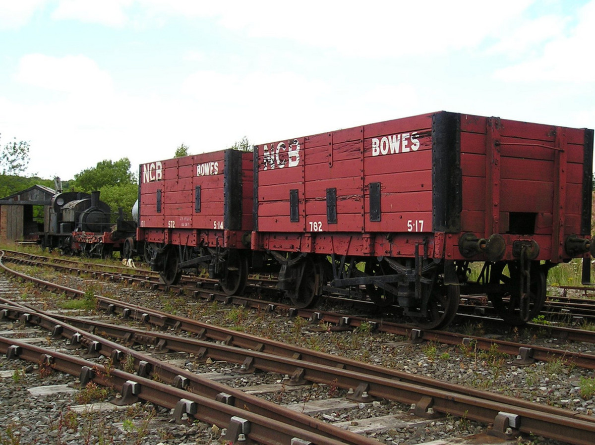 More ex-NER wagons taken into the NCB fleet, these marked as part of the Bowes (County Durham) fleet