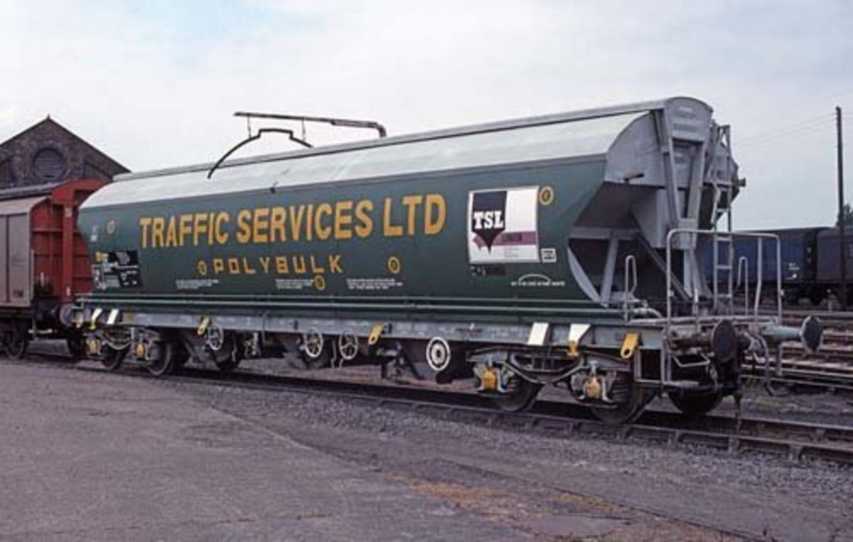 Bringing us more up-to-date: Polybulk bogie grain hopper