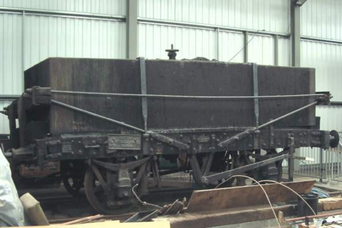 A more complete ex-North British Railway sample languishes north of the border