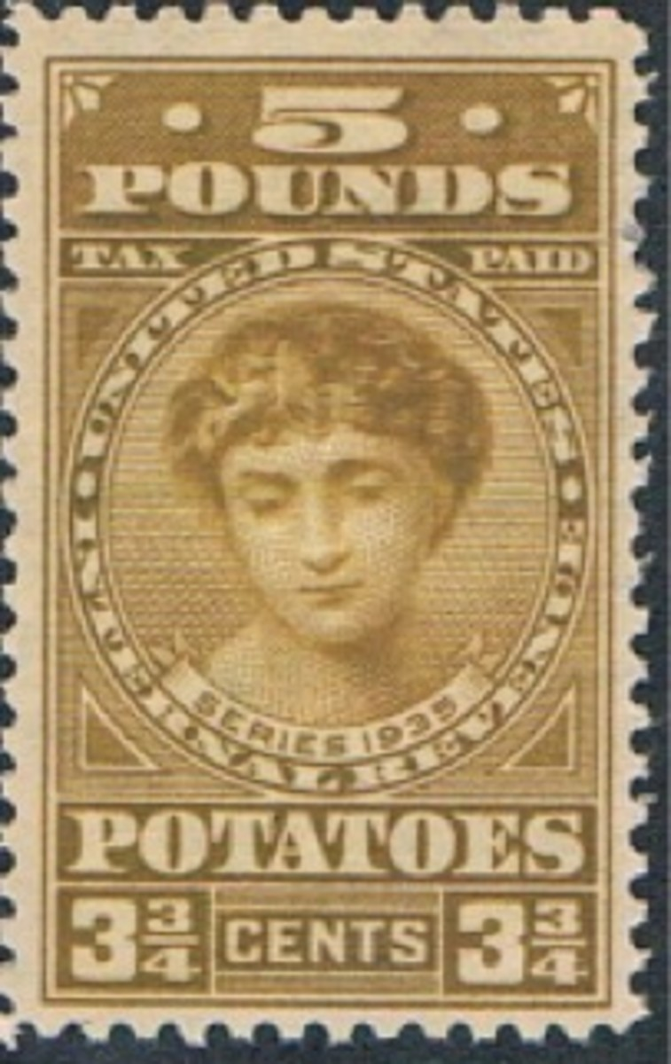 1935 Potato Tax Stamp