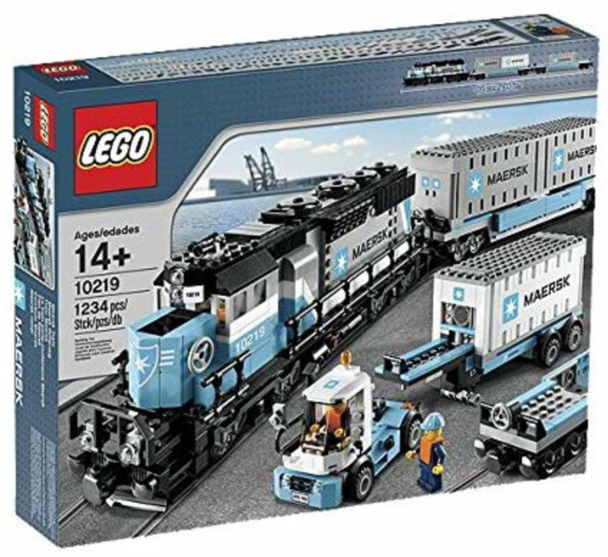 Lego Maesrk Train Set (10219)