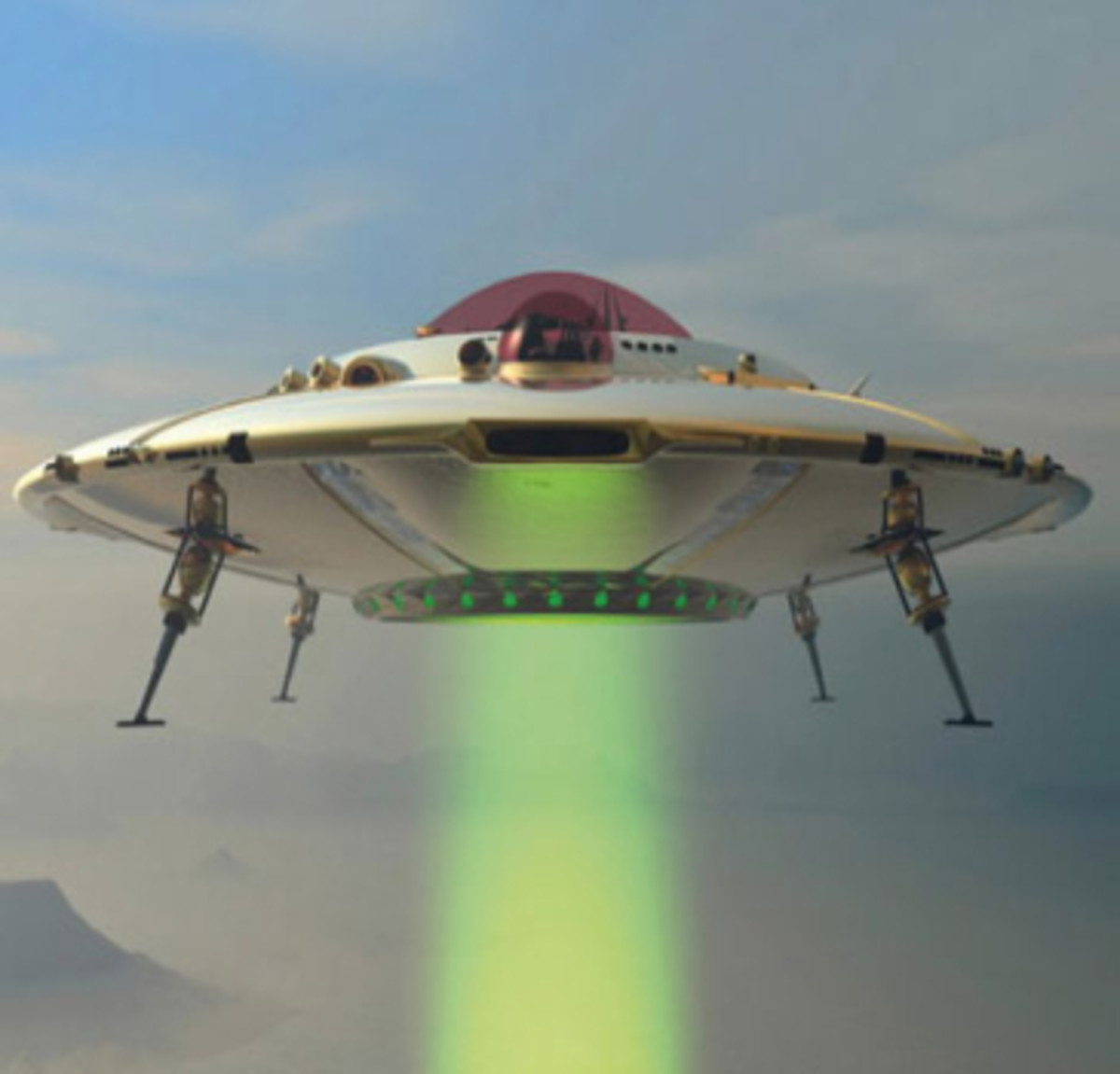 If you believe in UFO, there was an MLM for you...
