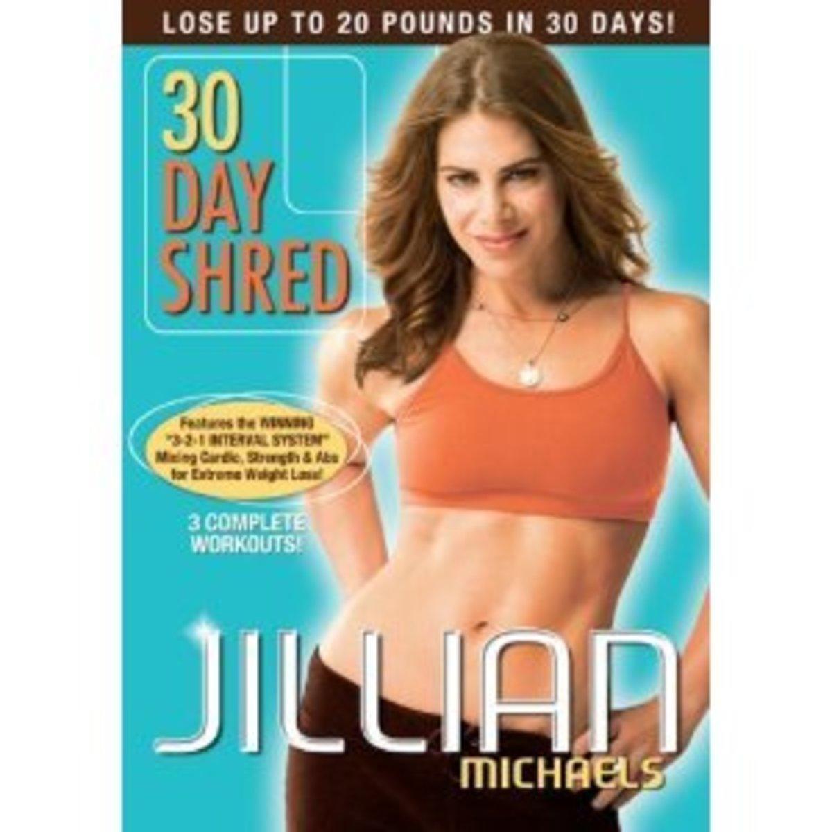 jillian michaels 30 day shred