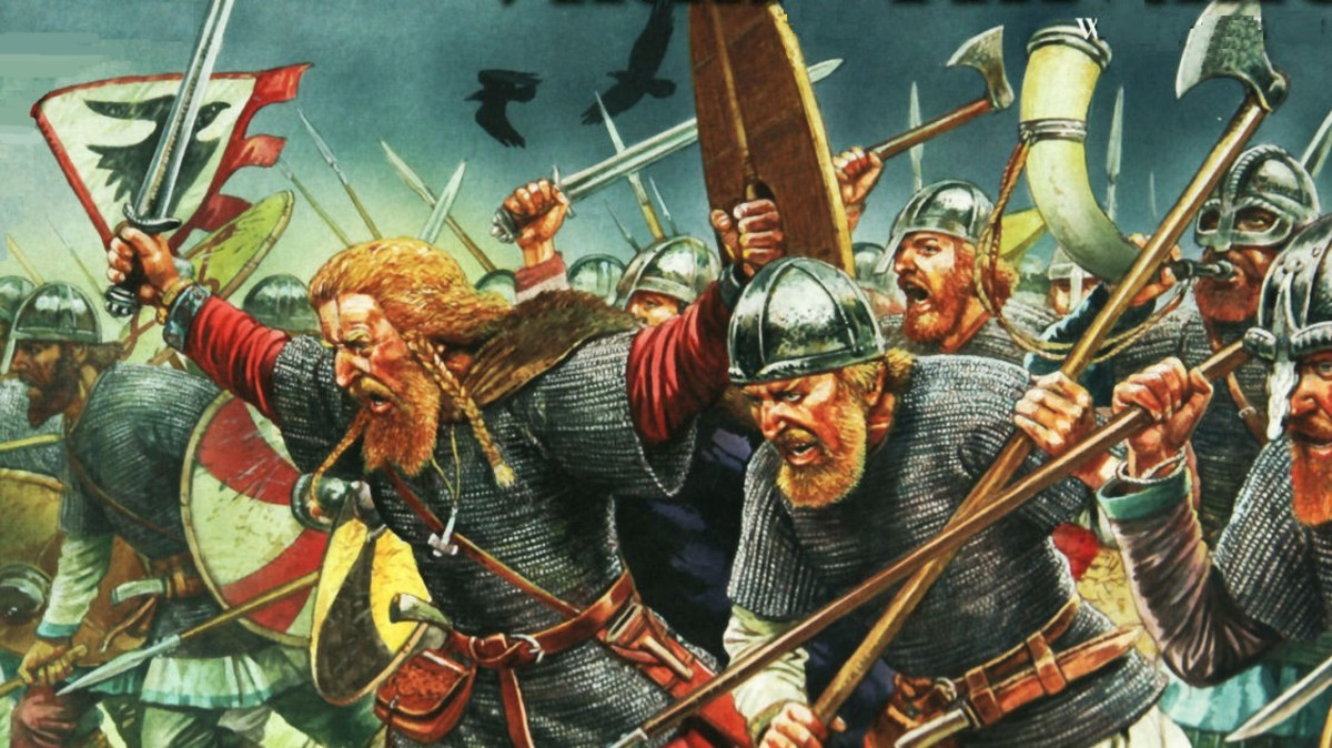 DANELAW YEARS - 2:  NJORD'S SILVERY PATH, Danes Cross the Sea ... Aiming for Wessex