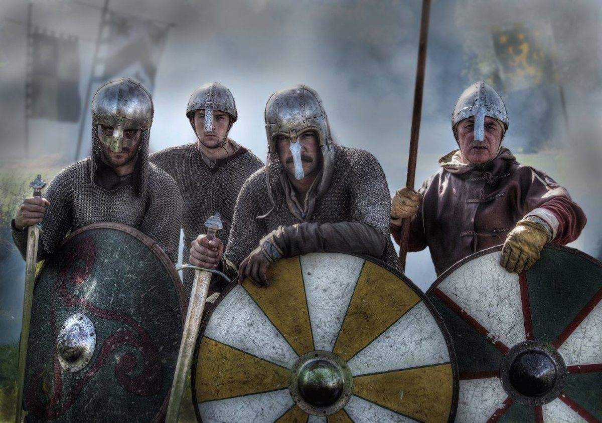DANELAW YEARS - 2:  NJORD'S SILVERY PATH, Danes Cross The Sea To Avenge A King's Death ... Aiming For Wessex
