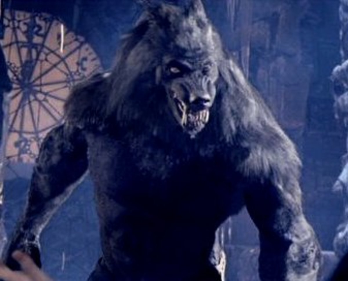 """A """"werewolf"""" in the popular movie Van Helsing. To me, the traits were more like a werewolf but the figure was that of a lycanthrope."""