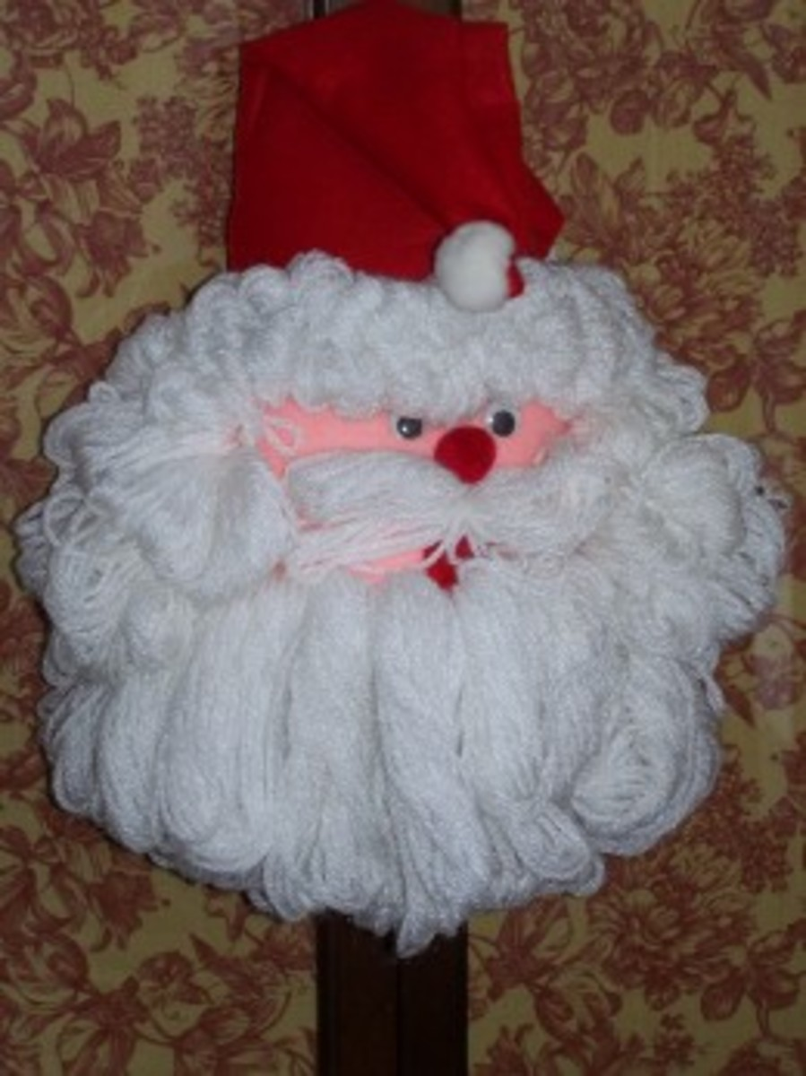 Beautiful Old Vintage Christmas Crafts And Ornaments You Will Love, Handmade.