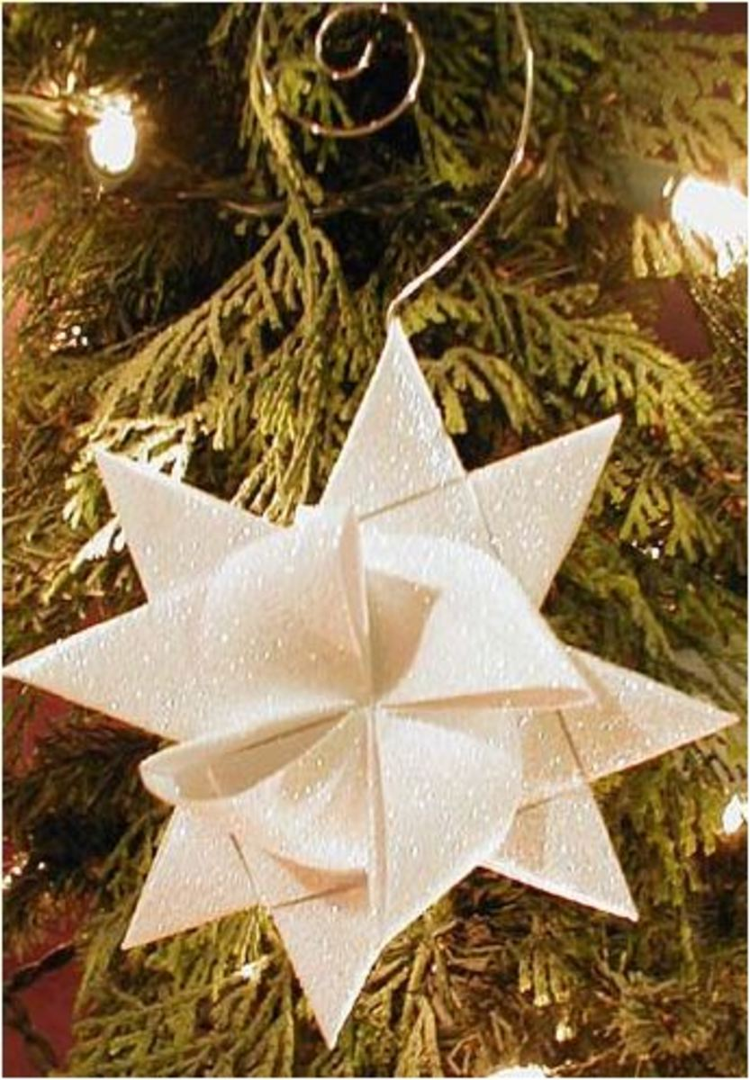 Handmade Christmas Crafts, Vintage,