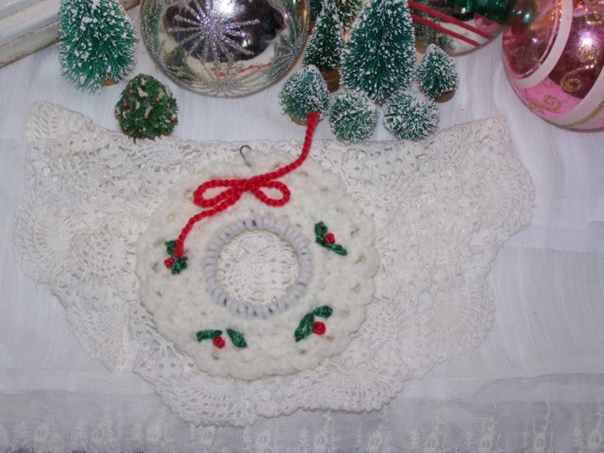 5. Crochet wreath