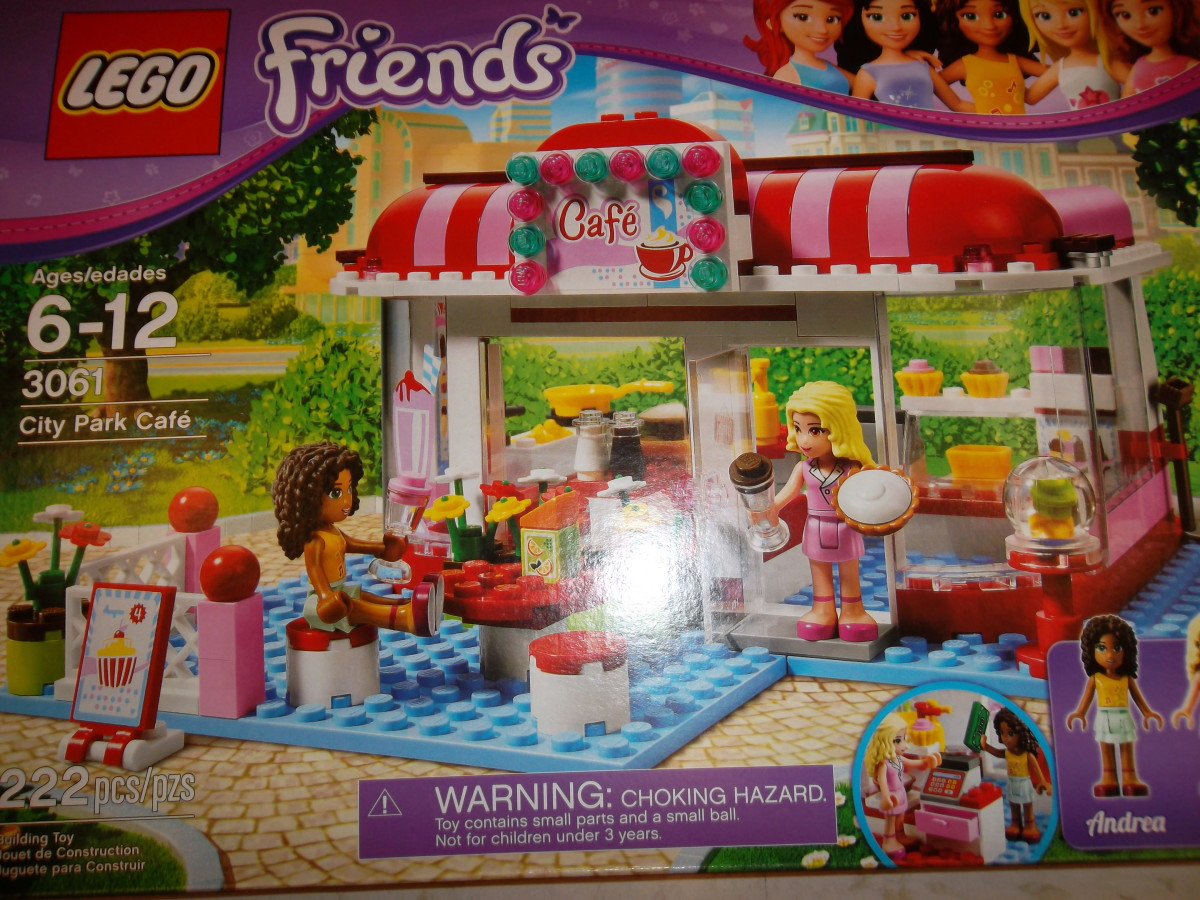 Lego Friends - City Park Cafe