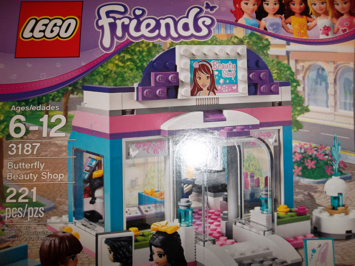 Lego Friends - Butterfly Beauty Shop
