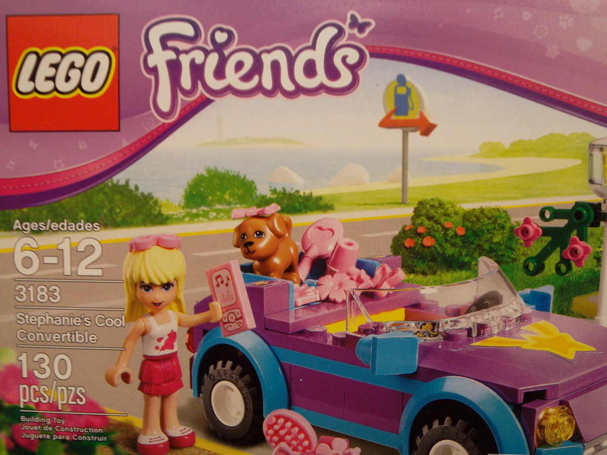 Lego Friends - Cool Convertible