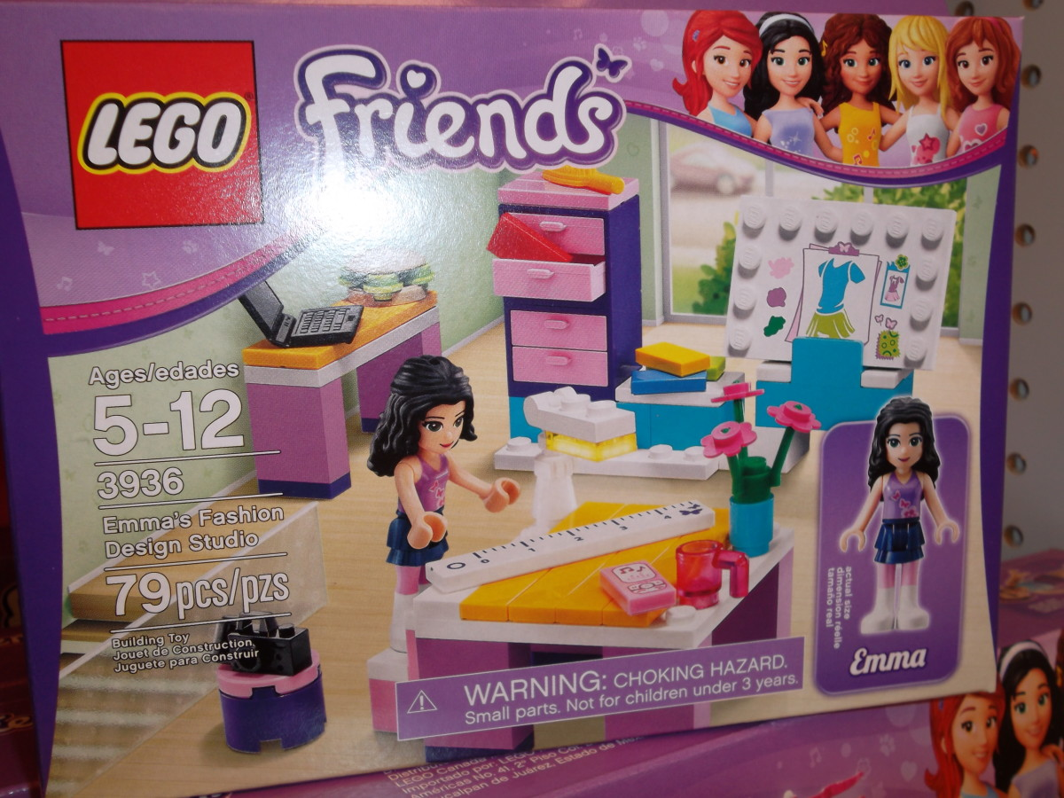 Lego Friends - Fashion Design Studio
