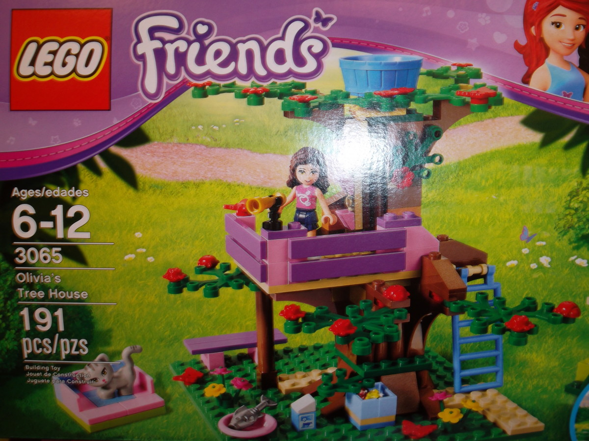 Lego Friends - Olivia's Tree House