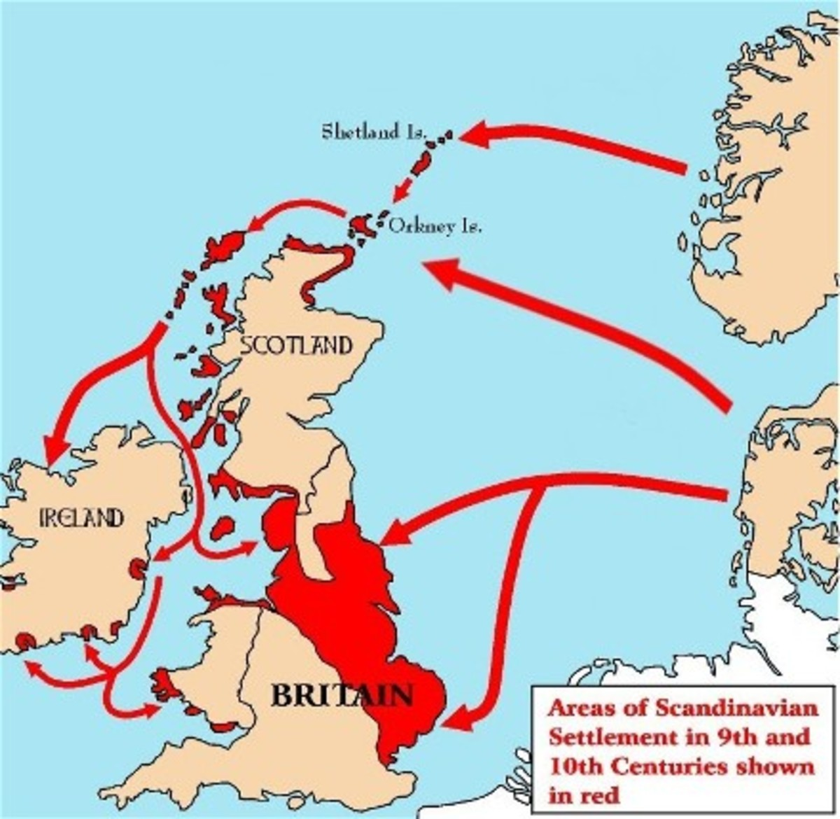 Britain and Scandinavia - before our special relationship with the US we had one with the Danes and West Norse, culminating in Knut's kingship from AD 1016 - 1035; son Harold 'Harefoot' reigned as regent, then king AD 1035 - 1041 before Harthaknut