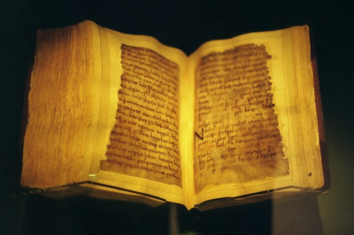 BEOWULF (pron.: Byow-Ulf), the ultimate guide to Anglian thinking applied to pre-Christian oral tradition. Written by an East Anglian monk (10th/11th C), the original metre is carefully adhered to with a Christian 'veneer'