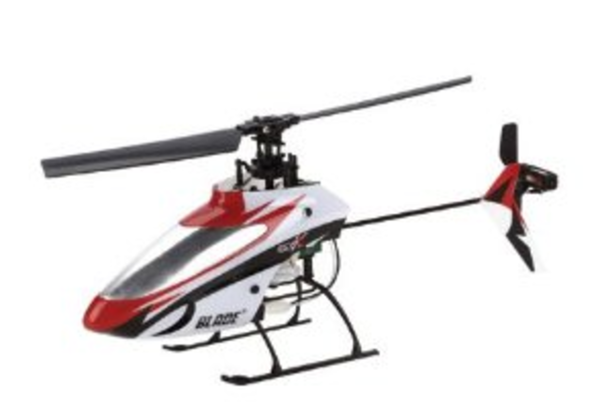 How to Bind and Trim the E-flite Blade mSR X Helicopter to the Spektrum DX6i Transmitter