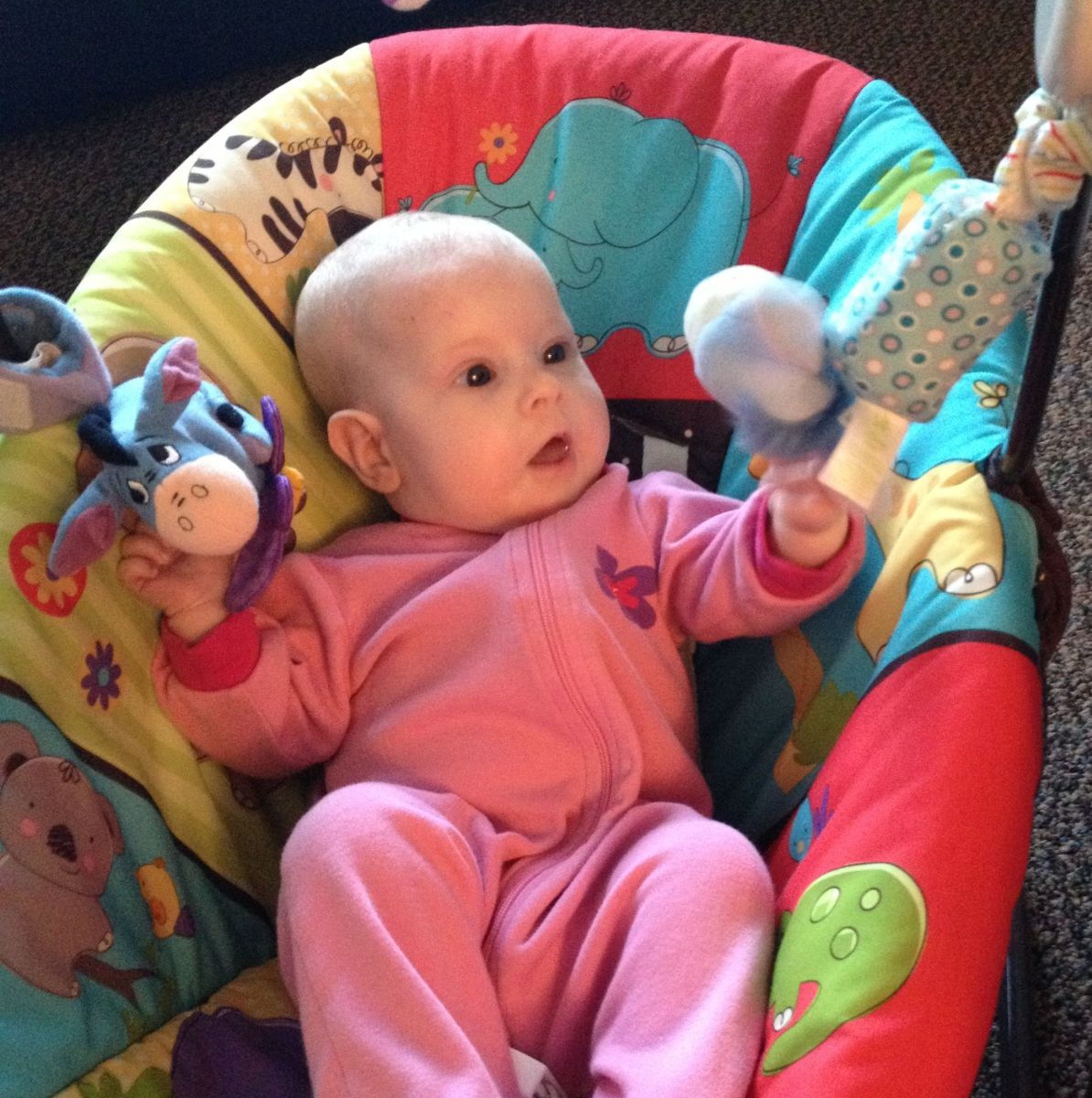 Babies have a lot of learning to do in their first year. Their development and abilities occurs rapidly.