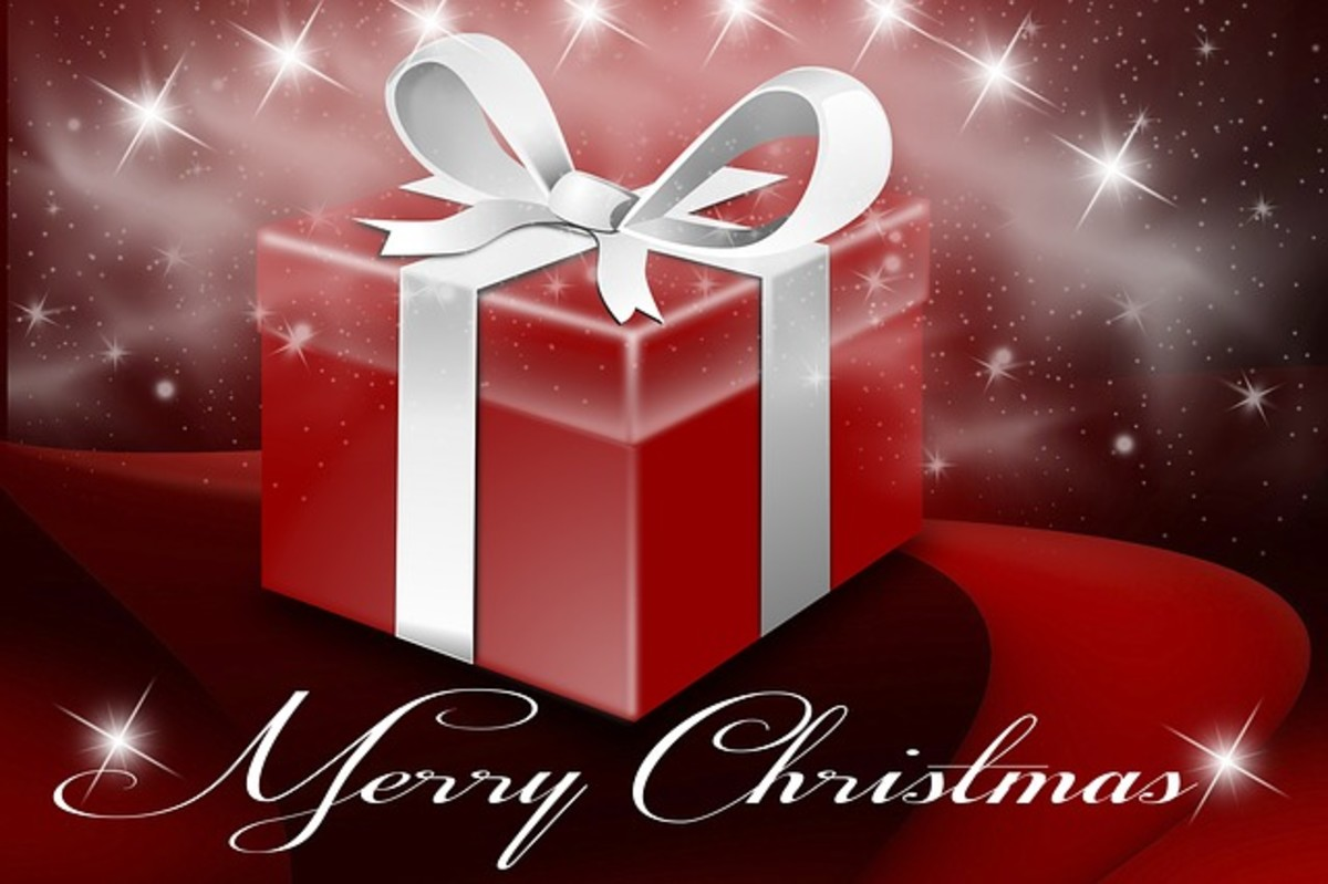 Merry Christmas message.