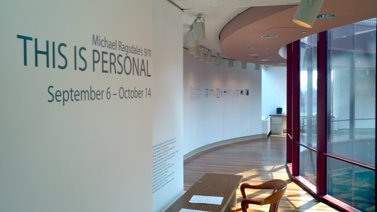 One image of the entrance to the exhibit.