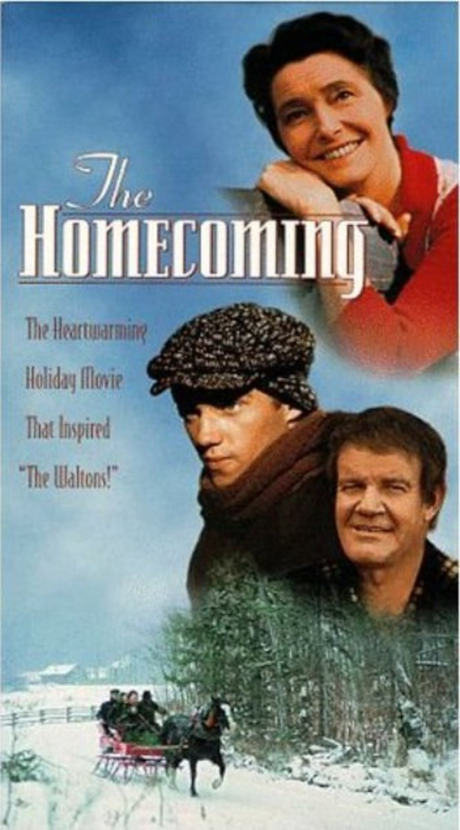 """Goodnight John-Boy!"" - ""Goodnight Elizabeth!"" ~ 'The Waltons' was Originally A Christmas Film: 'The Homecoming'."