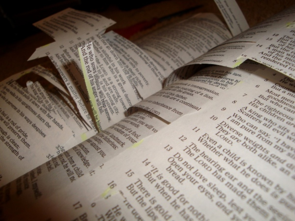 SOME FOLKS WANT TO EDIT THE BIBLE FOR THEMSELVES TO CUT OUT PARTS THAT DO NOT AGREE WITH WHAT THEY DO