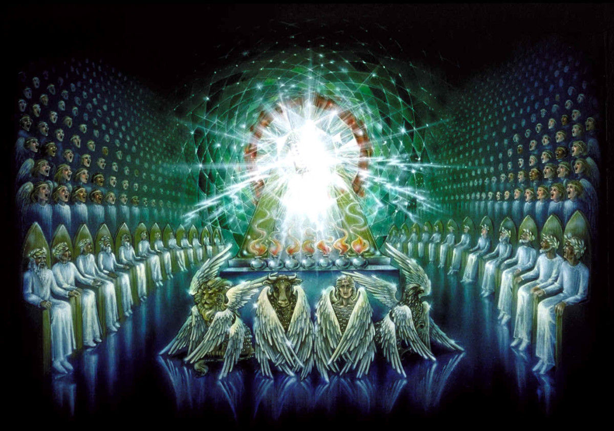 THE THRONE ROOM OF GOD DOES NOT EXIST ACCORDING TO A PANTHEIST
