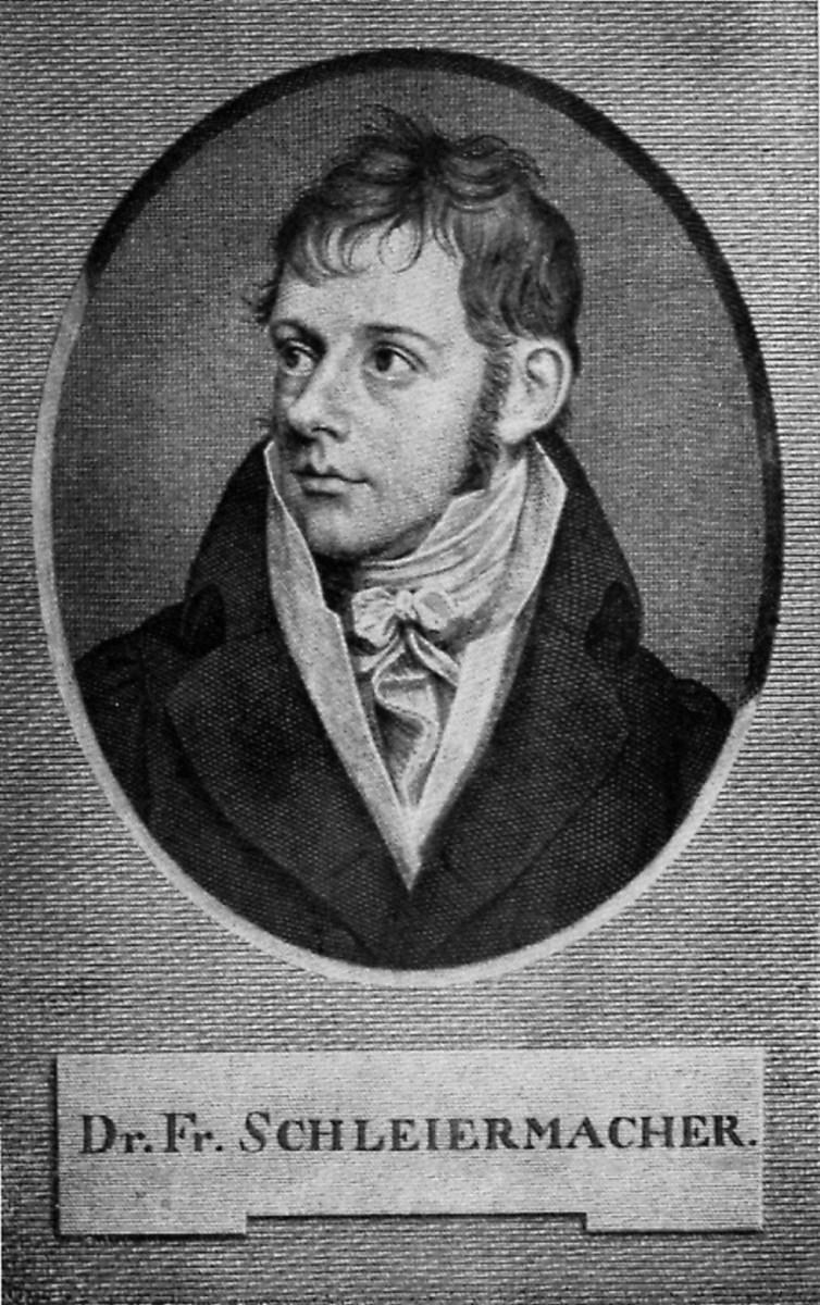 DR FRIEDRICH SCHLEIERMACHER