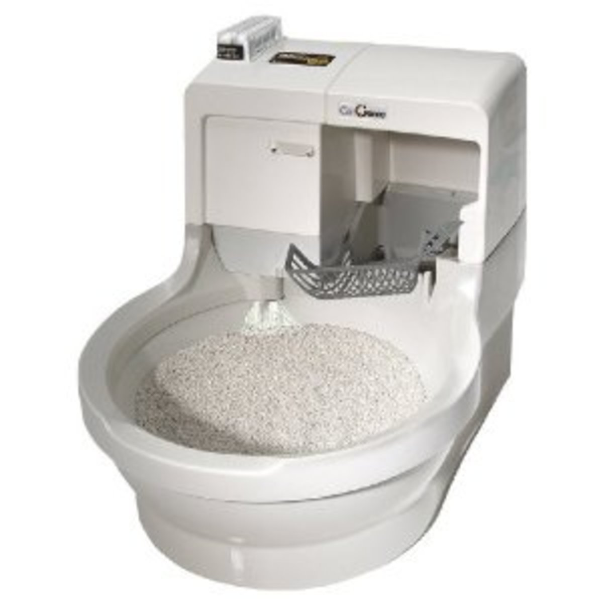 CatGenie 120 - The Self-Washing Self-Flushing Cat Litter Box for Owners of Multiple Cats