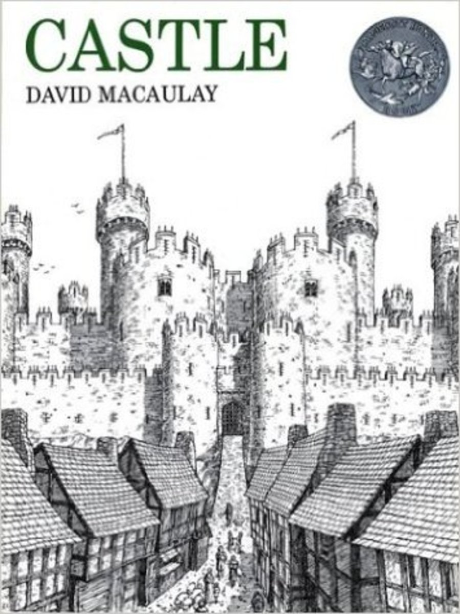 Castle by David Macaulay - Book images are from amazon.com.